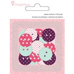 Imaginisce - Little Princess Collection - Plastic Buttons
