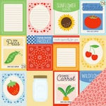 Imaginisce - Heartland Farm Collection - 12 x 12 Double Sided Paper - Farm Fresh