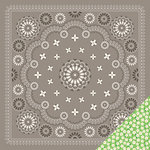 Imaginisce - Heartland Farm Collection - 12 x 12 Double Sided Paper - Bandana