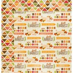 Imaginisce - Give Thanks Collection - 12 x 12 Double Sided Paper - Give Thanks