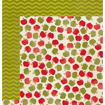 Imaginisce - Give Thanks Collection - 12 x 12 Double Sided Paper - Apple Pie
