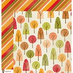 Imaginisce - Give Thanks Collection - 12 x 12 Double Sided Paper - Forever Forest