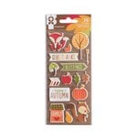 Imaginisce - Give Thanks Collection - Puffy Stickers