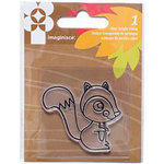 Imaginisce - Give Thanks Collection - Snag 'em Acrylic Stamps - Squirrel