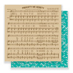 Imaginisce - Par-r-rty Me Hearty Collection - 12 x 12 Double Sided Paper - Sirens Song