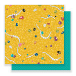 Imaginisce - Par-r-rty Me Hearty Collection - 12 x 12 Double Sided Paper - Buried Treasure