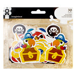 Imaginisce - Par-r-rty Me Hearty Collection - Ephemera - Pirate
