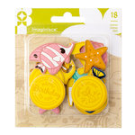 Imaginisce - Par-r-rty Me Hearty Collection - Foam Charms - Mermaid
