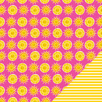Imaginisce - Sunny Collection - 12 x 12 Double Sided Paper - Fun In The Sun