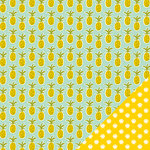Imaginisce - Sunny Collection - 12 x 12 Double Sided Paper - Pineapple Days