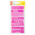 Imaginisce - Sunny Collection - Cardstock Stickers - Alphabet