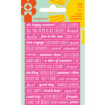 Imaginisce - Sunny Collection - Cardstock Stickers - Phrases