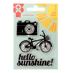 Imaginisce - Sunny Collection - Clear Acrylic Stamp Set
