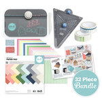 We R Memory Keepers - Punch Board Pack - 32 Piece Party Tool Bundle