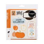 American Crafts - Nightfall Collection - Halloween - Remarks - Sticker Book - Halloween