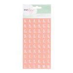 American Crafts - Dear Lizzy Neapolitan Collection - Remarks - Stickers - Tile Letter - Ballerina