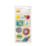 American Crafts - Amy Tangerine Collection - Sketchbook - Remarks - 3 Dimensional Stickers - Draw
