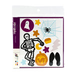 American Crafts - Halloween Collection - Remarks - Stickers Book - Crawly Accents - Color