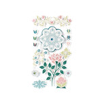 American Crafts - I Do Collection - Remarks - 3 Dimensional Stickers with Varnish Accents - Flute