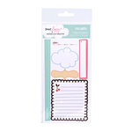 American Crafts - Dear Lizzy Spring Collection - Remarks - Journaling Stickers with Glitter Accents - Flicker, CLEARANCE