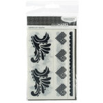 American Crafts - MiniMarks - Moda Bella - Catwalk Accents - Charcoal, CLEARANCE