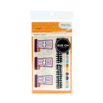 American Crafts - Halloween Collection - MiniMarks - Rub On Transfers - Potion Accents - Color