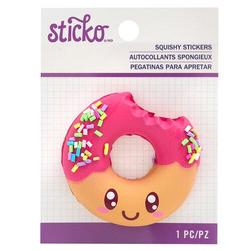 EK Success - Sticko - Squishy Stickers - Donut