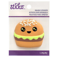 EK Success - Sticko - Squishy Stickers - Hamburger