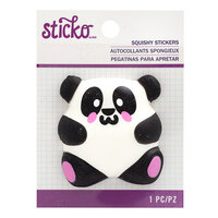 EK Success - Sticko - Squishy Stickers - Panda
