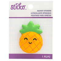 EK Success - Sticko - Squishy Stickers - Pineapple