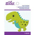 EK Success - Sticko - Fuzzy Stickers - Dino