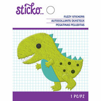EK Success - Sticko - Fuzzy Stickers - Dino