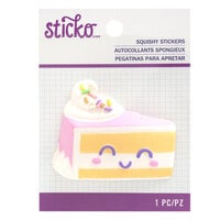 EK Success - Sticko - Squishy Stickers - Cake