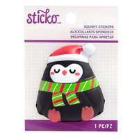 EK Success - Sticko - Christmas - Squishy Stickers - Penguin
