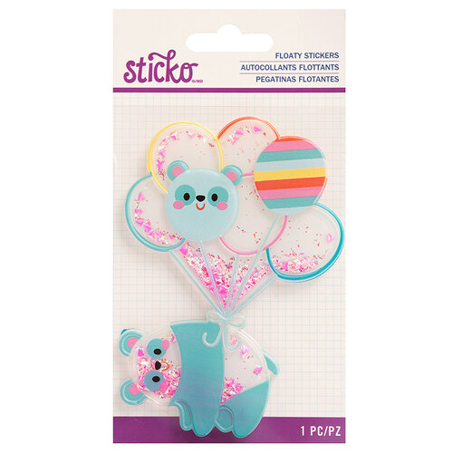 EK Success - Sticko - Floaty Stickers - Animal Balloon