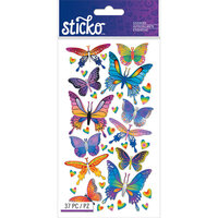 EK Success - Sticko - Mylar Stickers - Butterflies