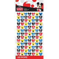 EK Success - Disney Collection - Stickers - Alphabet - Mickey Ears