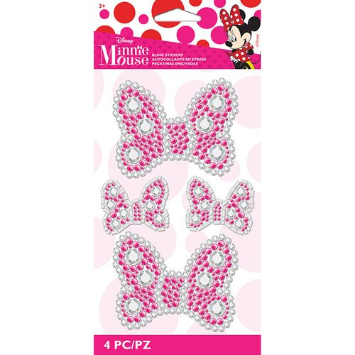 EK Success - Disney Collection - Stickers - Bling - Minnie Bows