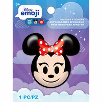 EK Success - Disney Collection - Squishy Stickers - Emoji - Minnie