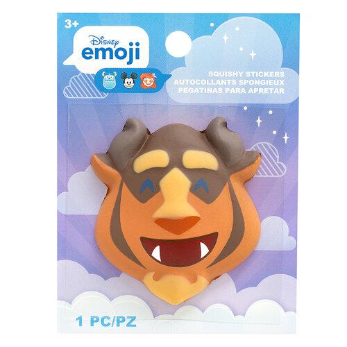 EK Success - Disney Collection - Squishy Stickers - Emoji - Beast
