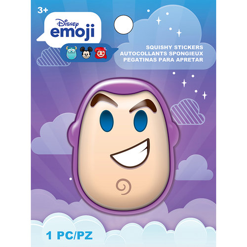 EK Success - Disney Collection - Squishy Stickers - Emoji - Buzz