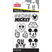 EK Success - Disney Collection - Clear Silicone Stamps - Mickey