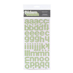 American Crafts - Thickers - Foam Alphabet Stickers - Cinnamon - Mint, CLEARANCE