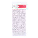 American Crafts - Dear Lizzy Enchanted Collection - Thickers - Foam Alphabet Stickers - Fantastic - White, CLEARANCE