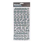 American Crafts - Campy Trails Collection - Thickers - Glossy Chipboard Stickers - Meadow - Popcorn