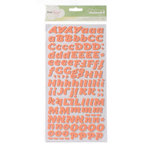 American Crafts - Dear Lizzy Neapolitan Collection - Thickers - Foam Alphabet Stickers - Serendipity - Ballerina