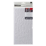 American Crafts - Thickers - DIY - Foam Alphabet Stickers - LAX