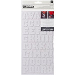American Crafts - Thickers - DIY - Foam Alphabet Stickers - Letterman