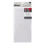 American Crafts - Thickers - DIY - Foam Alphabet Stickers - Niki Riki