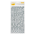 American Crafts - Amy Tangerine Collection - Ready Set Go - Thickers - Printed Chipboard Alphabet Stickers - Everyday - Mediterranean